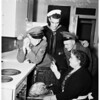 Thanksgiving...United Service Organizations party, 807 South Flower Street, 1951