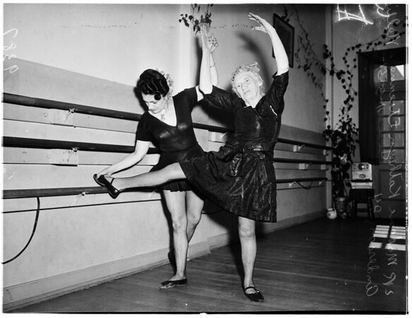 Eighty-Four Years Old Ballet Dancer, 1951