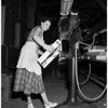 Rosie the riveter (electrical assembly line, Hoffman Radio Corporation), 1951