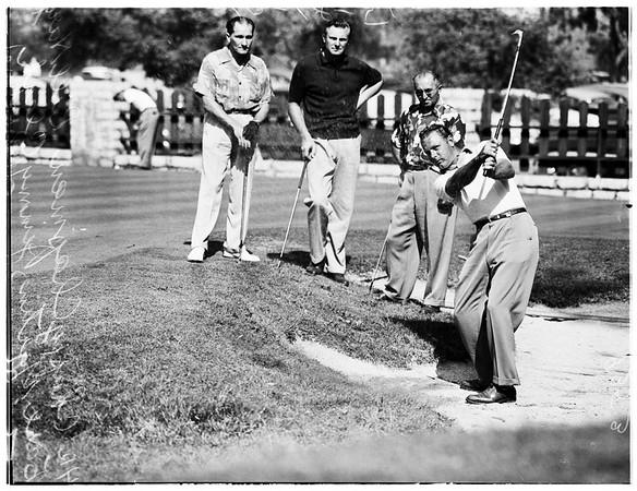 Santa Anita Open Golf Tournament, 1951