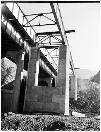 Piru Gorge Road, 1951