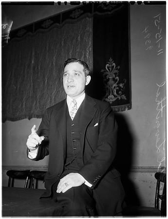 Interview... Biltmore Hotel, 1951
