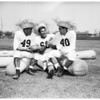Hawaiian football players, 1951