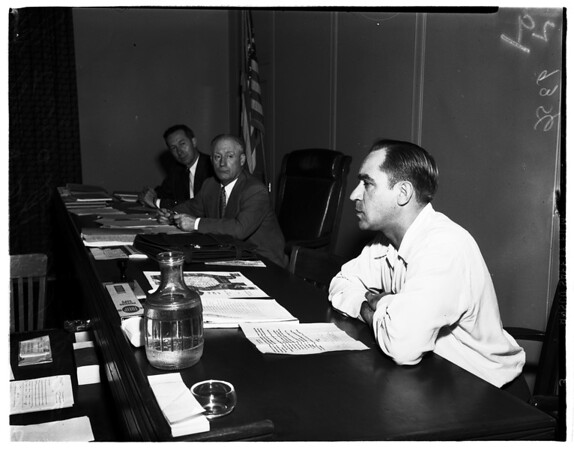 Pacific Electric rate hearing, 1951