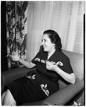 Turkish Woman in Parliament, 1951