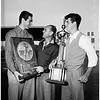 American Legion Junior Team arrival, 1951