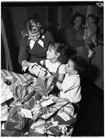 Mount Sinai (Children's Party), 1951.