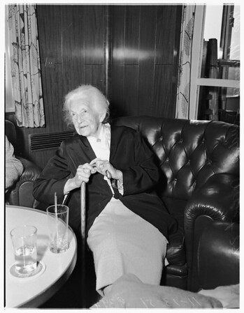 United Nations Educational, Scientific and Cultural Organization conference in Paris... Old Lady back and Reports, 1951