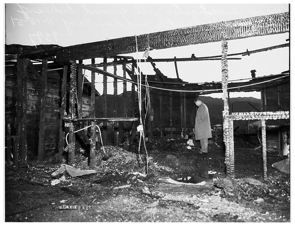 Sun Valley Fire ...10433 Arminta Street, 1951