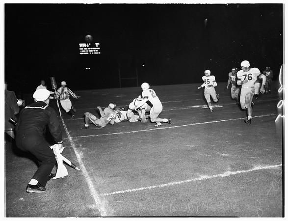 Football, University of California, Los Angeles versus Texas  A & M University, 1951