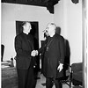 New Guinea Episcopal Bishop visits Los Angeles, 1951
