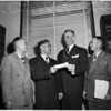 Check for General MacArthur Monument Fund, 1951