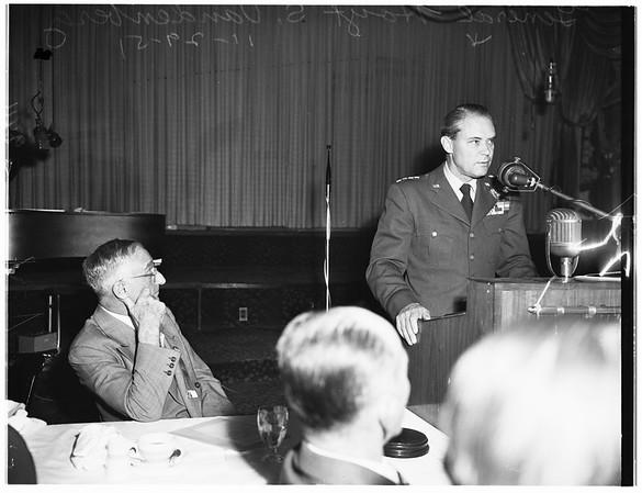 Interview ...Biltmore Hotel, 1951