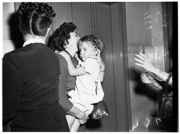 Child custody case, 1951