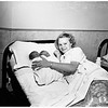 Fourteen year old mother of twins, 1951