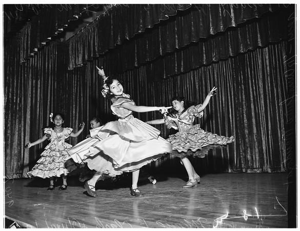 Mexican school program, 1951