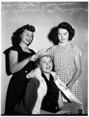 Valley Junior College Queen... Van Nuys, 1951