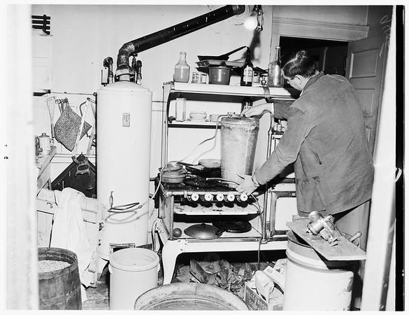 Raid on Liquor Still, 1951