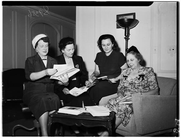 Brothers of Saint John of God ...Women's League, 1951