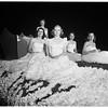 University of Southern California homecoming parade... several floats, 1951