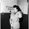 Narcotic sentence (Santa Monica), 1951