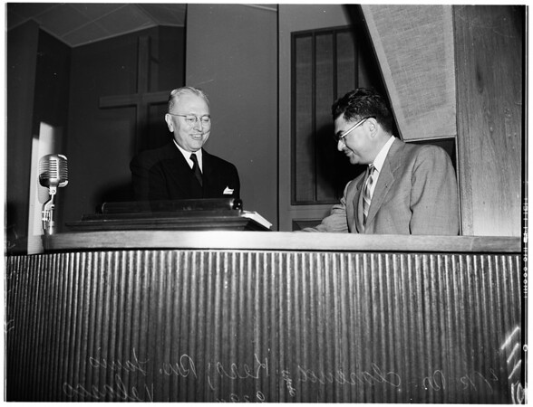 Presbyterian Church has new moderator, 1951