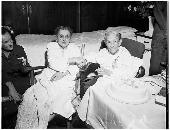 Elderly gals, 1951.