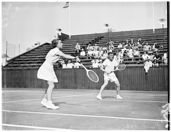 Los Angeles Tennis, 1951