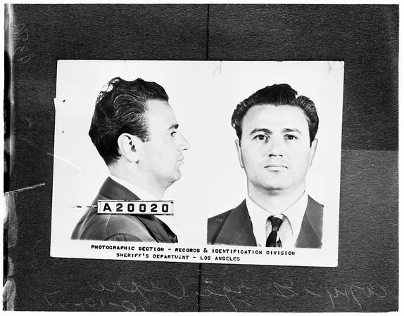 George Capri, 1951