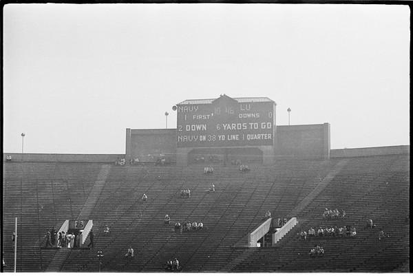 Loyola Marymount University versus Navy (San Diego United States Naval Training Center), 1951