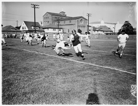 University of Southern California scrimmage (Football), 1951