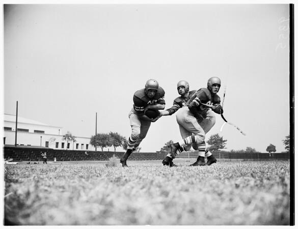 Football...Loyola Marymount University, 1951