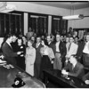 Civil defense meeting, Hollywood Police Station, 1951