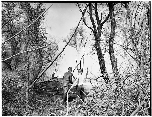 Brush fire (Rio Hondo fire), 1951