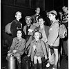 Displaced persons at Union Station, 1951