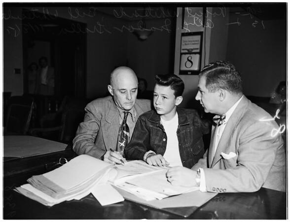 Child Custody, 1951