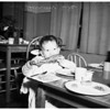 Turkey Dinner at Salvation Army Day Nursery (836 Stanford Avenue), 1951