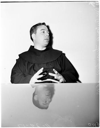Interview ...Saint Joseph's Church, 1951