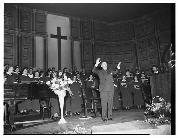 Baptist Revival, 1951