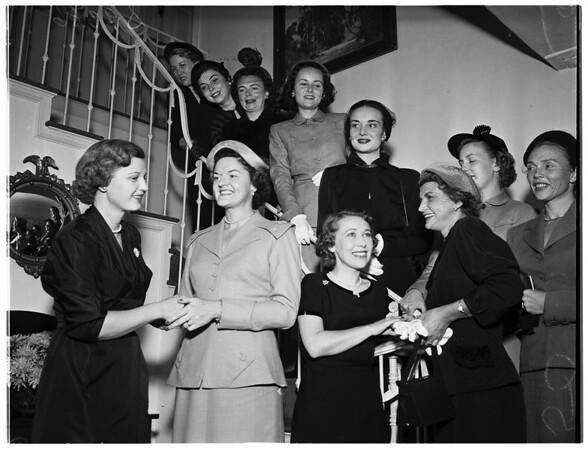 Philharmonic Juniors, 1951