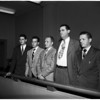 Hearing for Deputy Sheriff, 1951