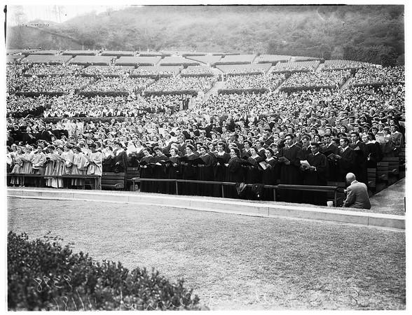 Methodist revival... Hollywood Bowl, 1951