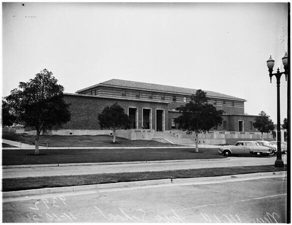 Dedication of University of California, Los Angeles School of Law, 1951