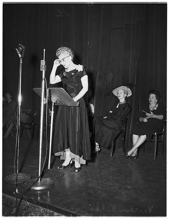 Liberty Belles...Shrine Auditorium...5000 attendance, 1951