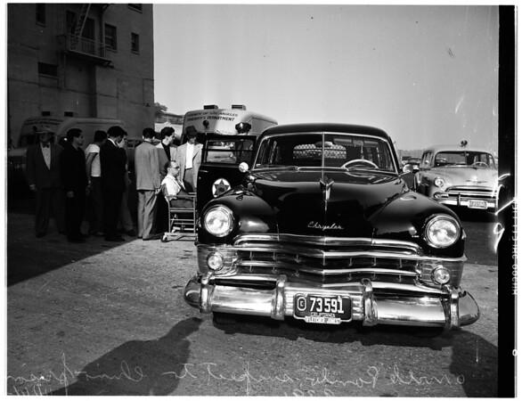 Chino prison trip, 1951