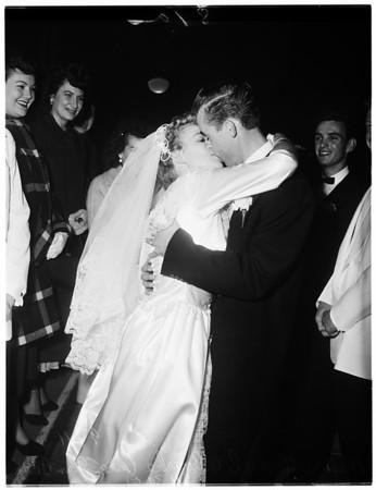 O'Rourke wedding, 1951