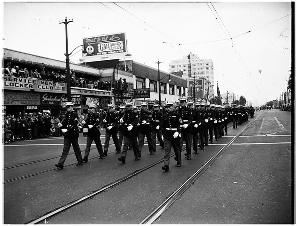 Armistice Day at Long Beach, 1951