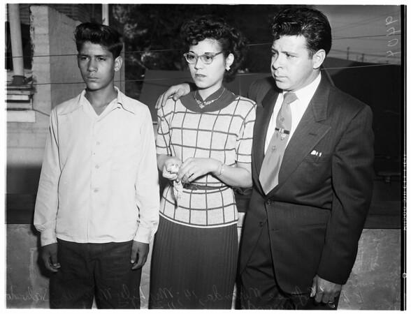 Kidnap story, 1951