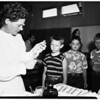 School children immunized (Pacific Palisades Elementary School, 1951