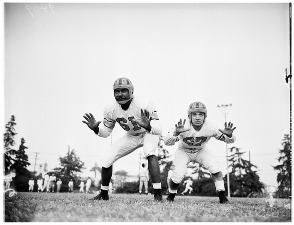 Football ...Los Angeles State Players, 1951